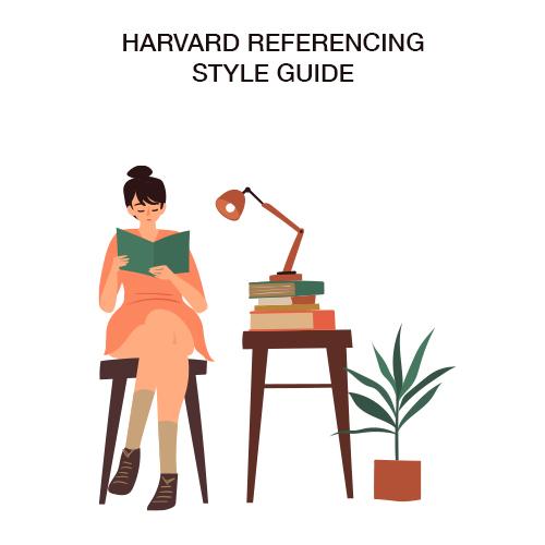 harvard reference格式